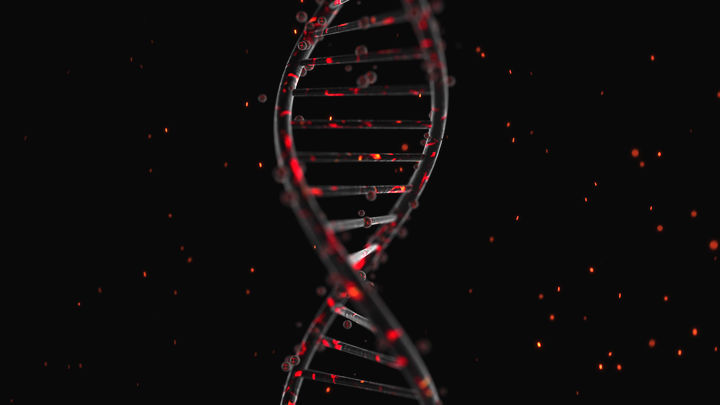 Abstract DNA Medical Animation