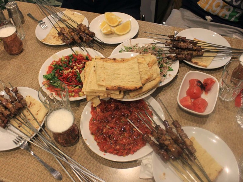 Assertive Foods in Turkish Cuisine