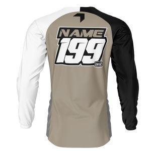 back of sand born to race motorsports jersey