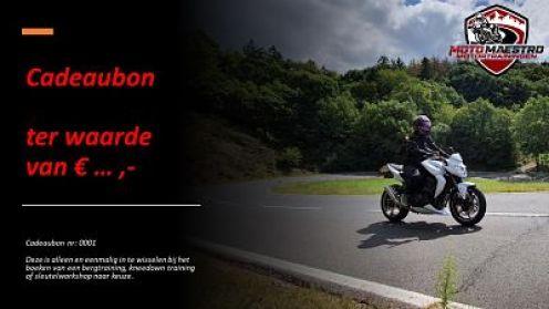 Cadeaubon Moto Maestro Motortrainingen
