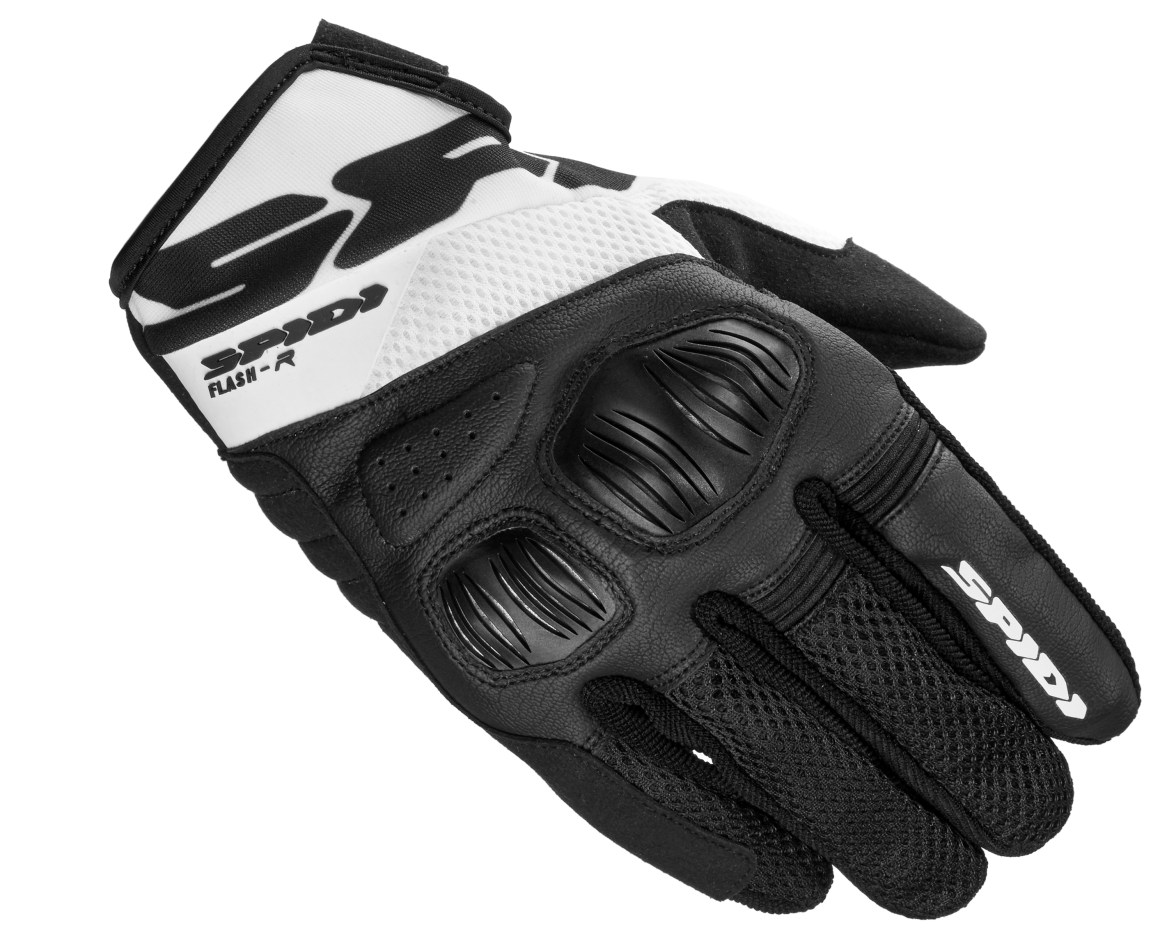 SPIDI GLOVES FLASH R EVO - BLACK WHITE Image