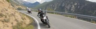 Moto Pyrénées pyrénées espagnole