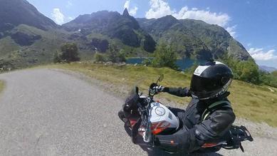 ensemble moto en cuir et tissu KTM powerwear
