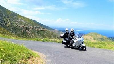 Moto Pyrénées balades voyages vacances Mer et Montagne