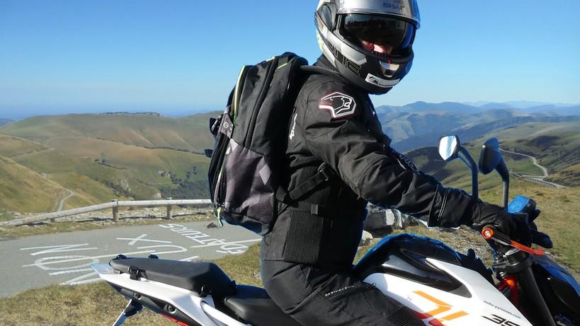 Bagster sac à dos moto de bon qualité