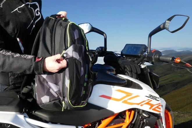 Bagster sac à dos multifonctionnel, pratique, avec un look moderne