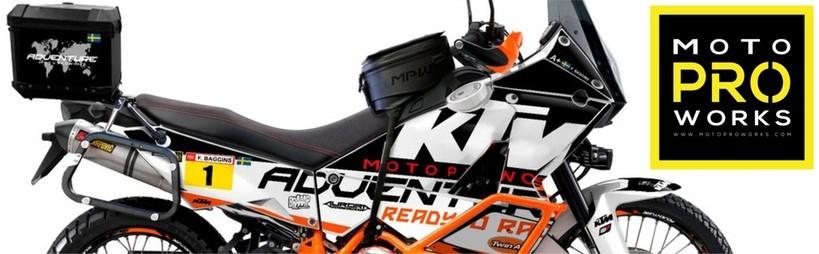 moto deco motoproworks kit stickers pour moto decoration