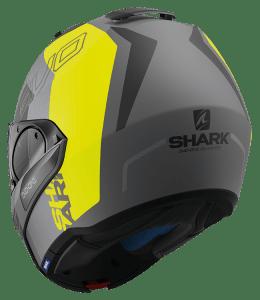 casque modulable Shark evo one est la référence de Johan Zarco