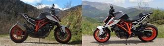 Disques de frein sur KTM Superduke 1290 R avant et après