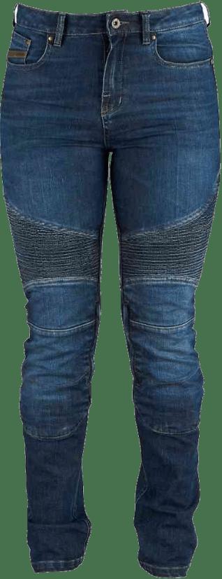 jean moto femme Furygan en gris