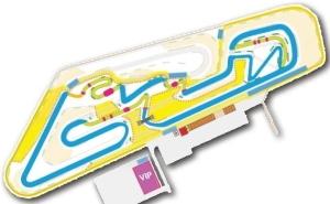 Pneu journée piste Sam tracé du circuit