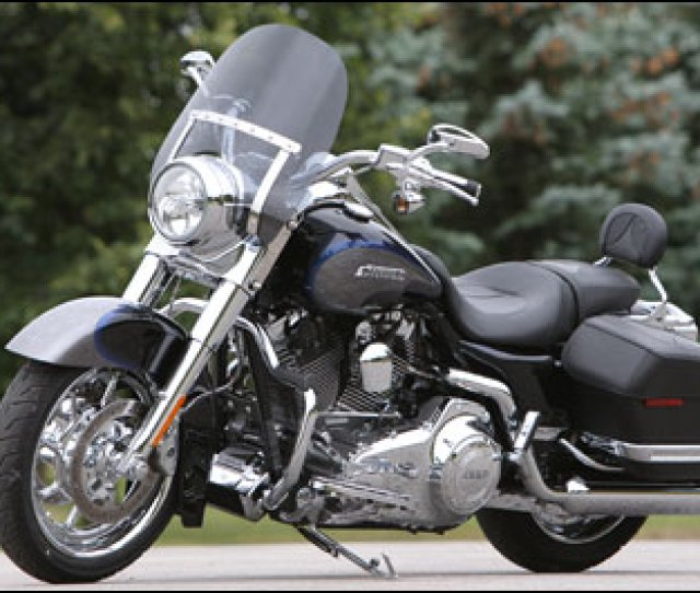 This Road King Has Been Specialy Modified By Cvo