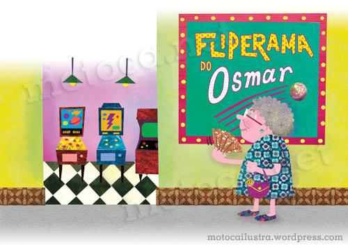 Velhinha e o Fliperama1