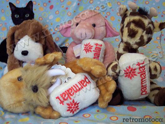Mandala (penetra), cachorro, porco, girafa e morsa