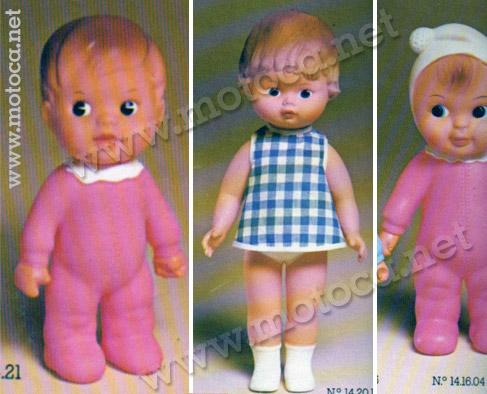 bonecas dodô, dadinha e vivi