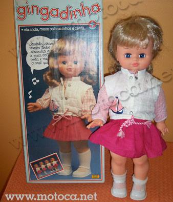 boneca gingadinha