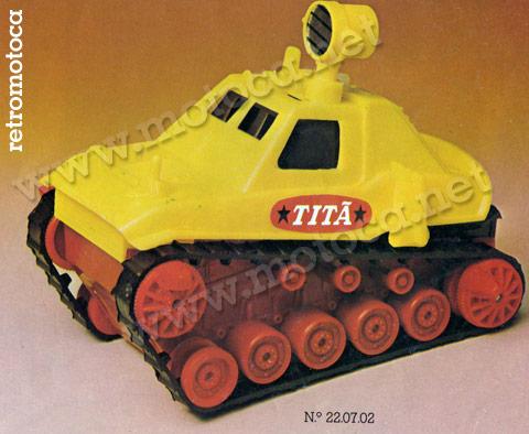 Titã Estrela anos 70