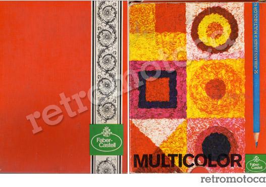 Caixa lápis de cor antiga Faber Castell