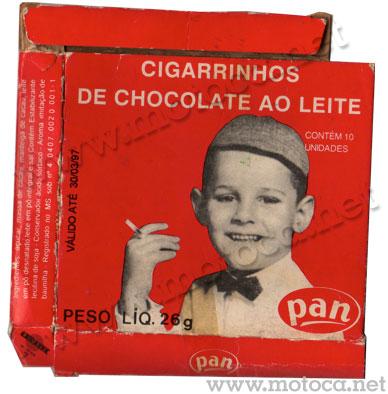 caixa cigarrinhos pan