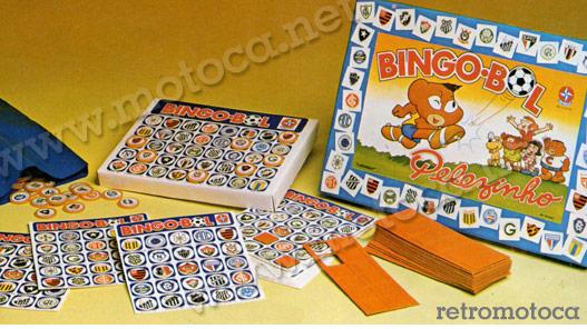 Bingo Bol Pelezinho, catálogo Estrela anos 70