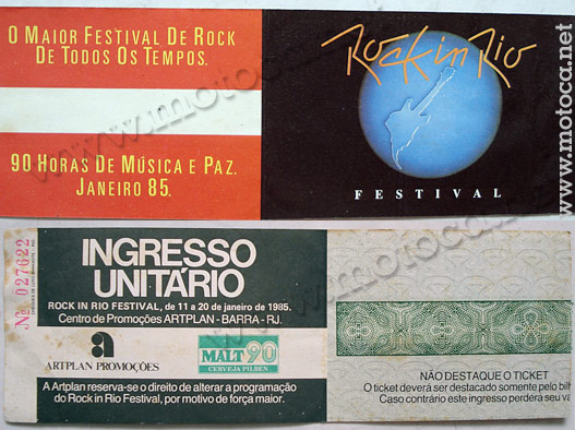 ticket rock in rio