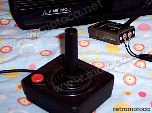 Atari 2600 detalhe