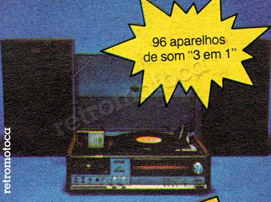 Aparelho de Som anos 80