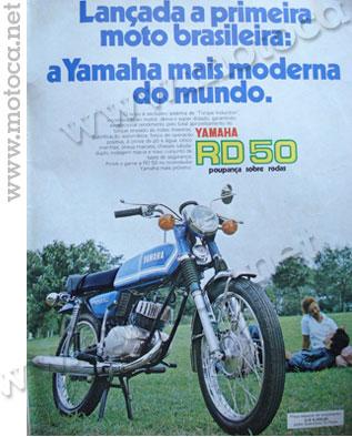 anuncio moto yamaha 75