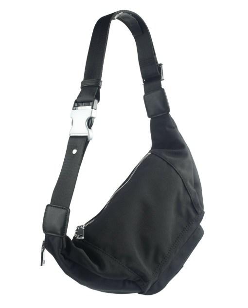 sling bag back crossbody bag black
