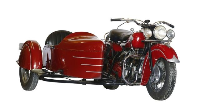 Indian Chief Side Car