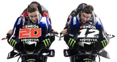 Viñales e Quartararo tolgono i veli alla Yamaha M1 2021 - Motociclismo