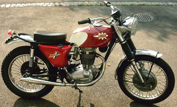 BSA B 44 Shooting Star