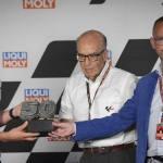 Ritirato il numero 50 di Dupasquier dalla Moto3, la cerimonia al Sachsenring