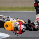 Non solo Bagnaia: da Rossi a Lorenzo, quando una caduta costa il Mondiale