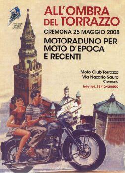 Maggio 2008 – ll primo motoraduno del MOTO CLUB TORRAZZO e tradizionale benedizione di Santa Rita