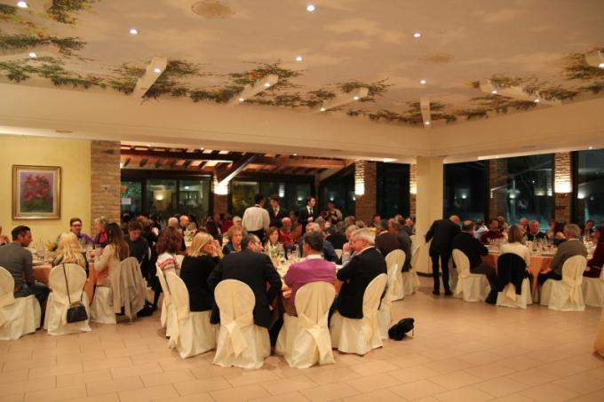 La cena degli Auguri 2012