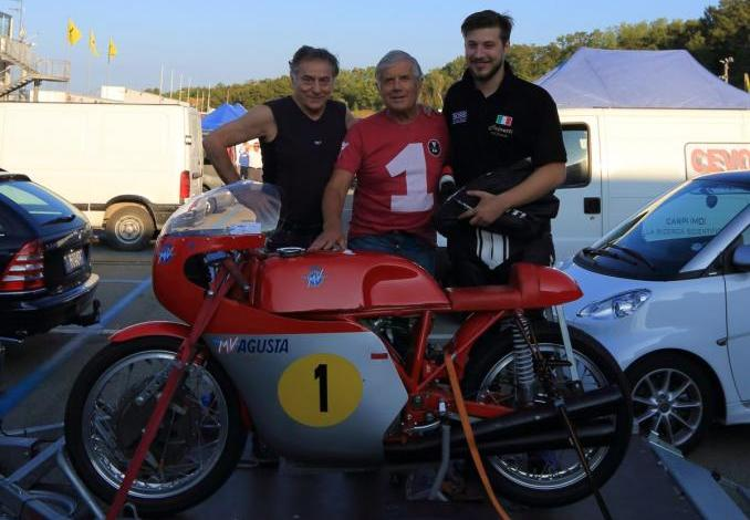 Settembre 2015 – Giacomo Agostini ancora con noi