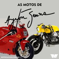 As motos de Ayrton Senna