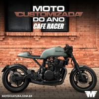 Moto customizada do ano - Etapa cafe racer