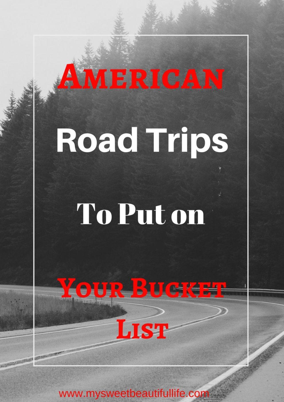 American Road Trips to Take #trips #roadtrips #travel #cartravel #roads #bucketlist #vacations #openroad