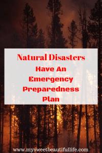 emergency Preparedness Plan #plan #emergency #preparedness #survival #naturaldisaters #shtf