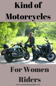 Kind of Motorcycles for women.#biker, #bikerchick, #bikrbabe, #ladyrider, #ladybiker, #motorcycles, #bikes, #riding