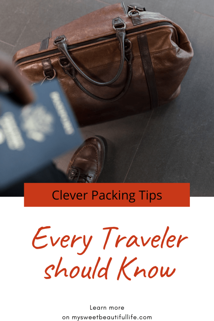 Clever packing tips