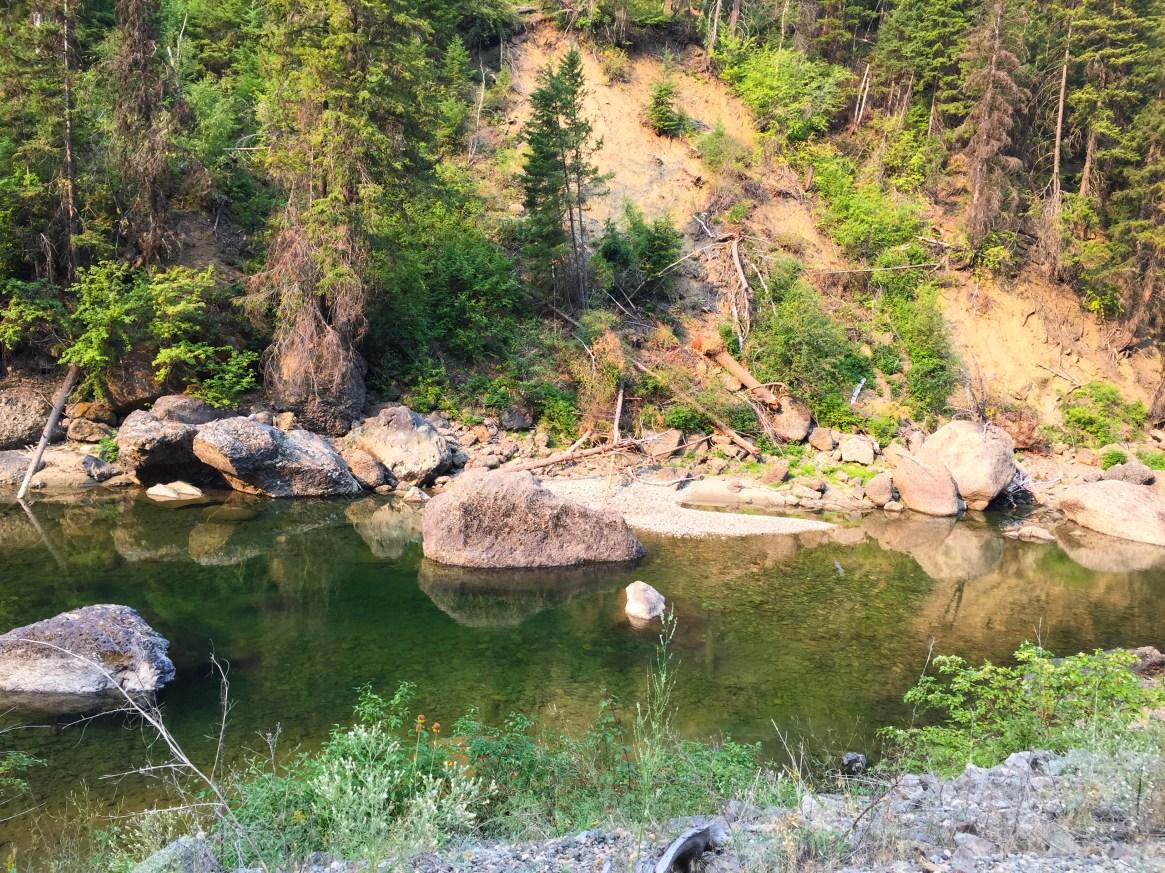 Kettle Valley Railway Similkameen river
