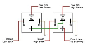 Wiring A Relay 87a  Wiring Diagram