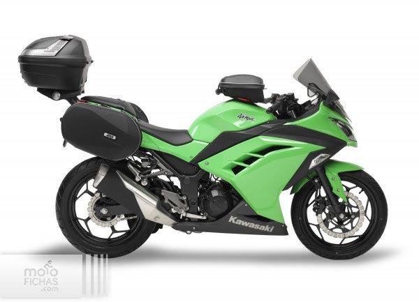 Kawasaki Ninja 300: más práctica con Givi