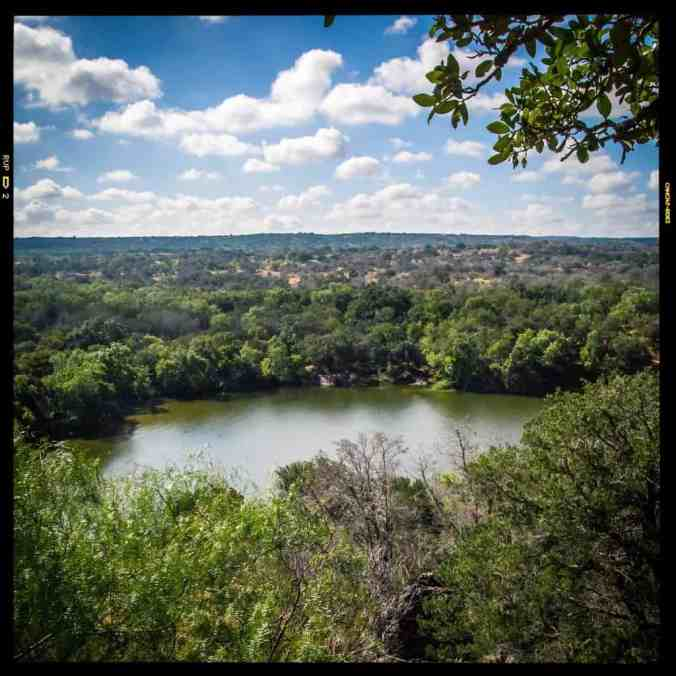 Looking Out Over Inks Lake