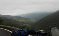 What a view - about half way up