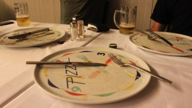Clean plates all round