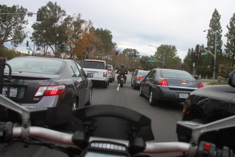 Back into town and amongst LA's traffic